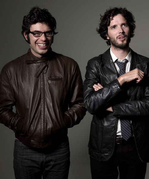 flight of the conchords. [photogenic.]